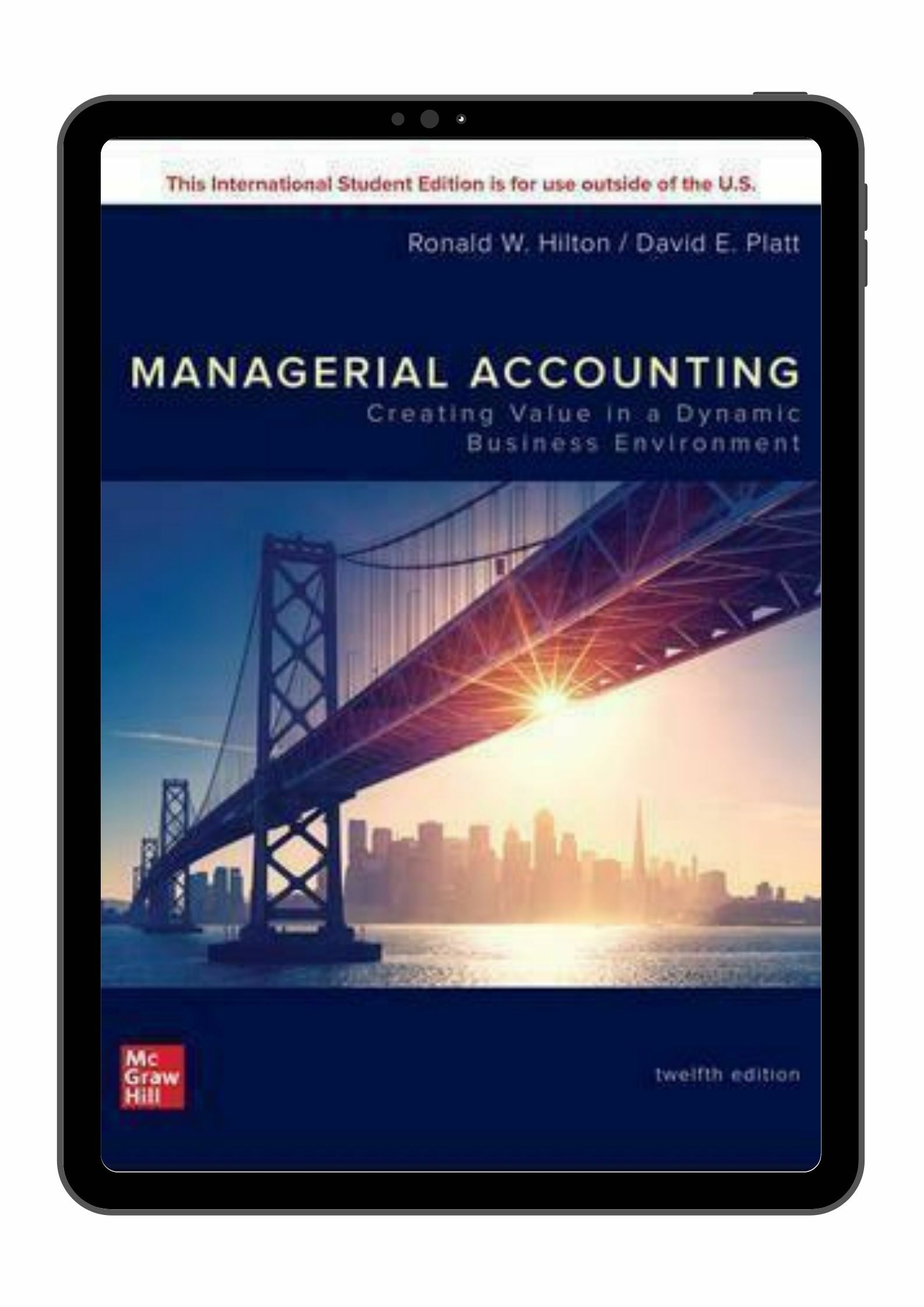 (Digital) Managerial Accounting 12E By Ronald Hilton