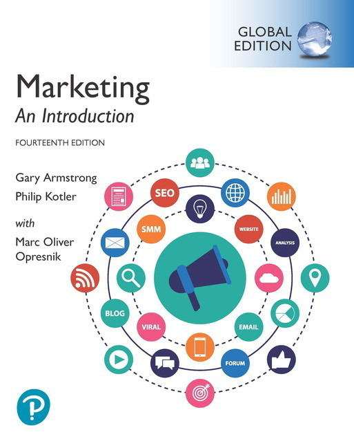 Marketing: An Introduction 14E By Gary Armstrong 9781292294865