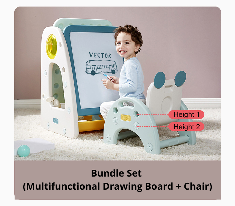 Bundle Set ( Multifunctional Drawing Board + Chair).png