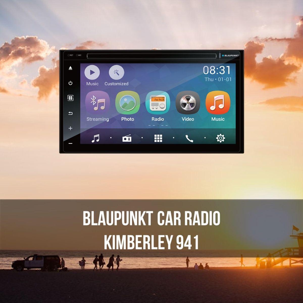 Entertainment filled car radio,Blaupunkt Kimberly 941