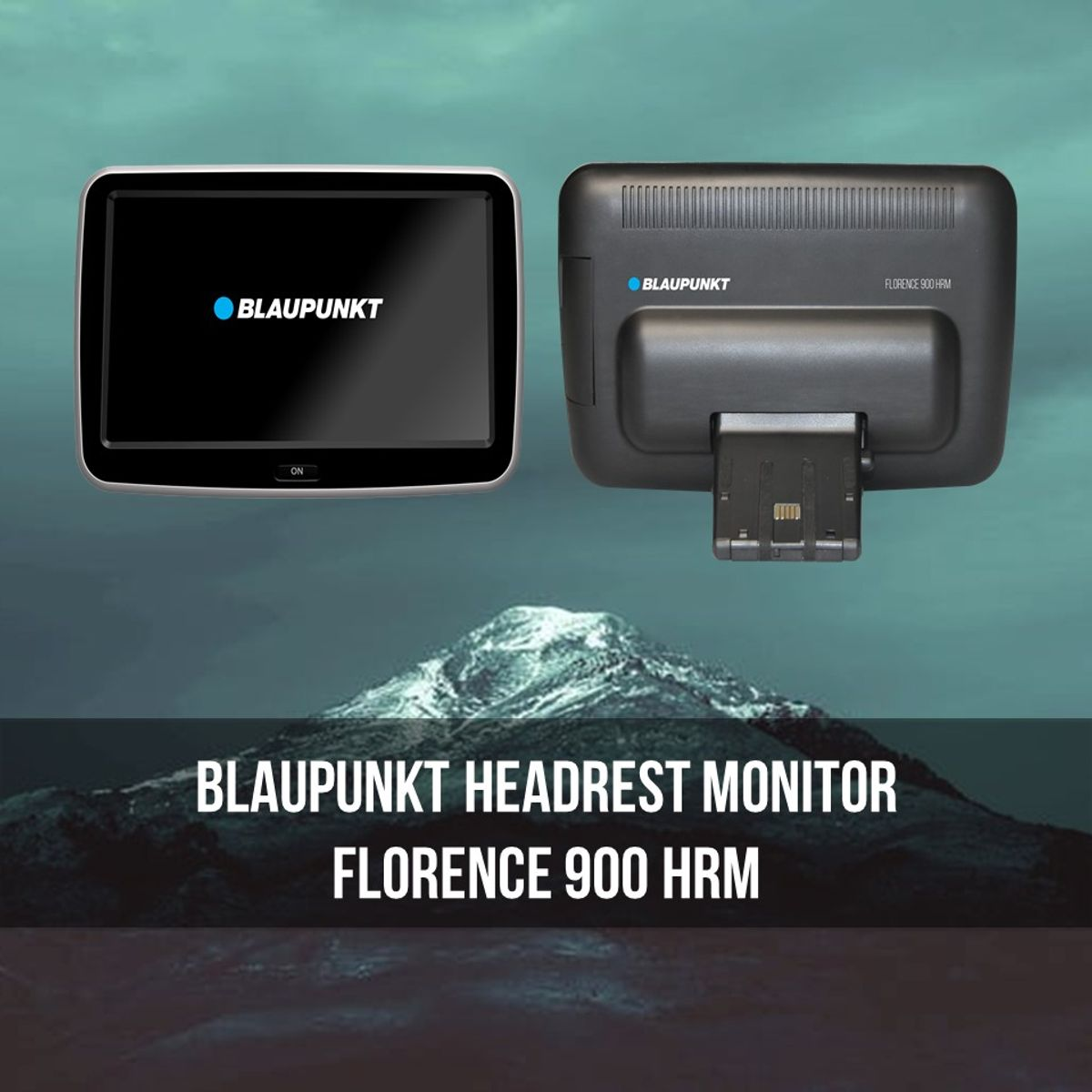 Plug & Play Monitor, Designed for Mercedes-Benz - Blaupunkt Florence 900 HRM