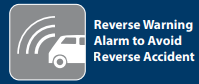 Reverse warning