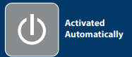 Activated automatically