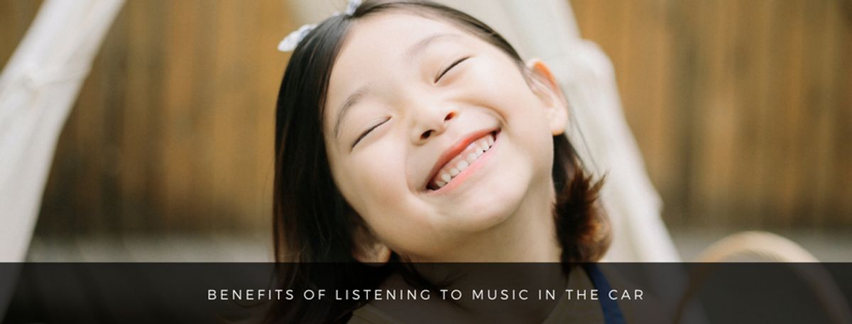 Benefits of listening to music in the car