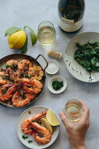 Gambas al ajillo garlic prawns tapas - Beyond Sweet and Savory.jpg