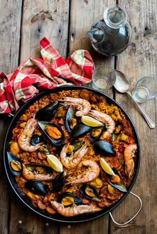Paella - by Hein van Tonder, awarded Cape Town based food photographer, videographer & stylist.jpg