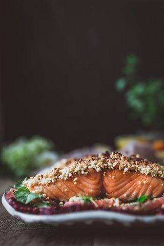 Cashew-Crusted Salmon with Rainbow Citrus Salad - Chews Local-2.jpg