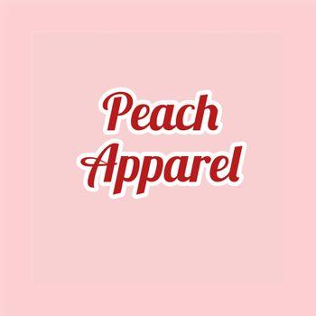 Peach apparel