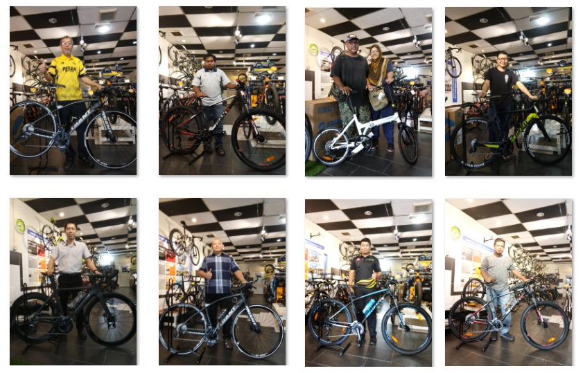 Bikes Gallery | Best Online Bicycle Store | Kedai Basikal - New Bike Day For Our Happy Customers !