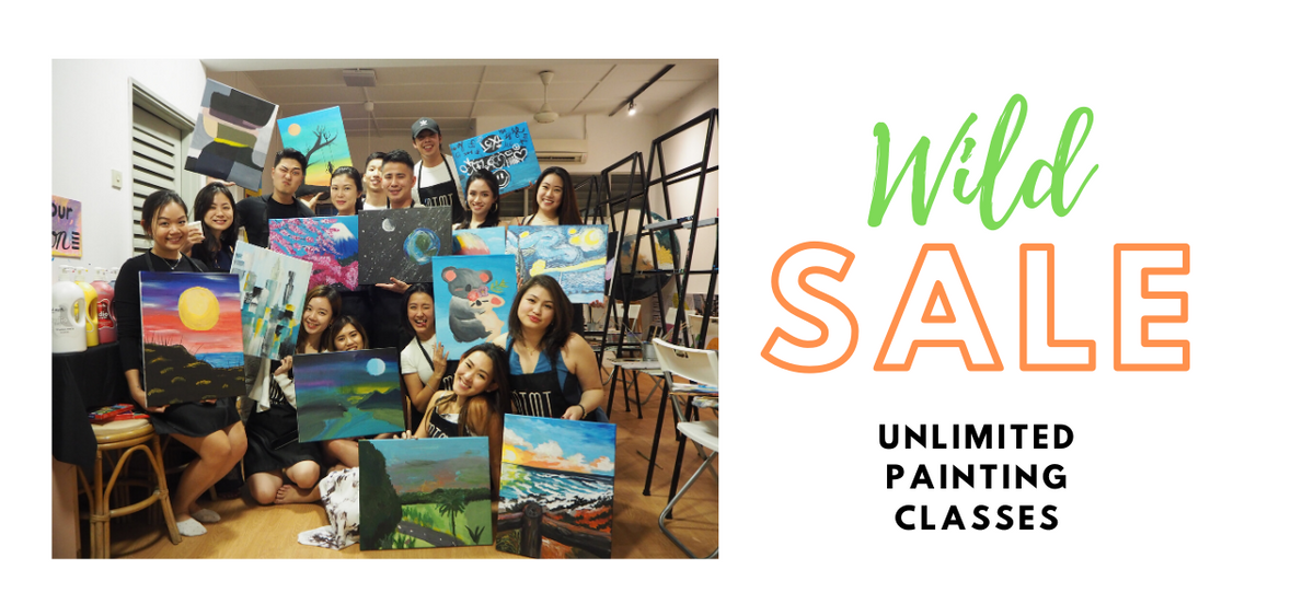 Unlimited Tipsy Painting Class
