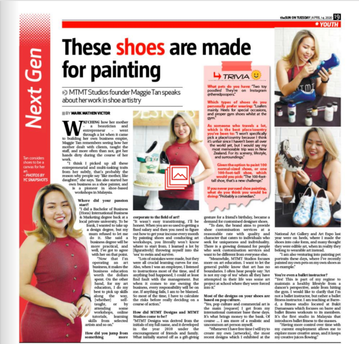 MTMT Studios is on The Sun Daily!
