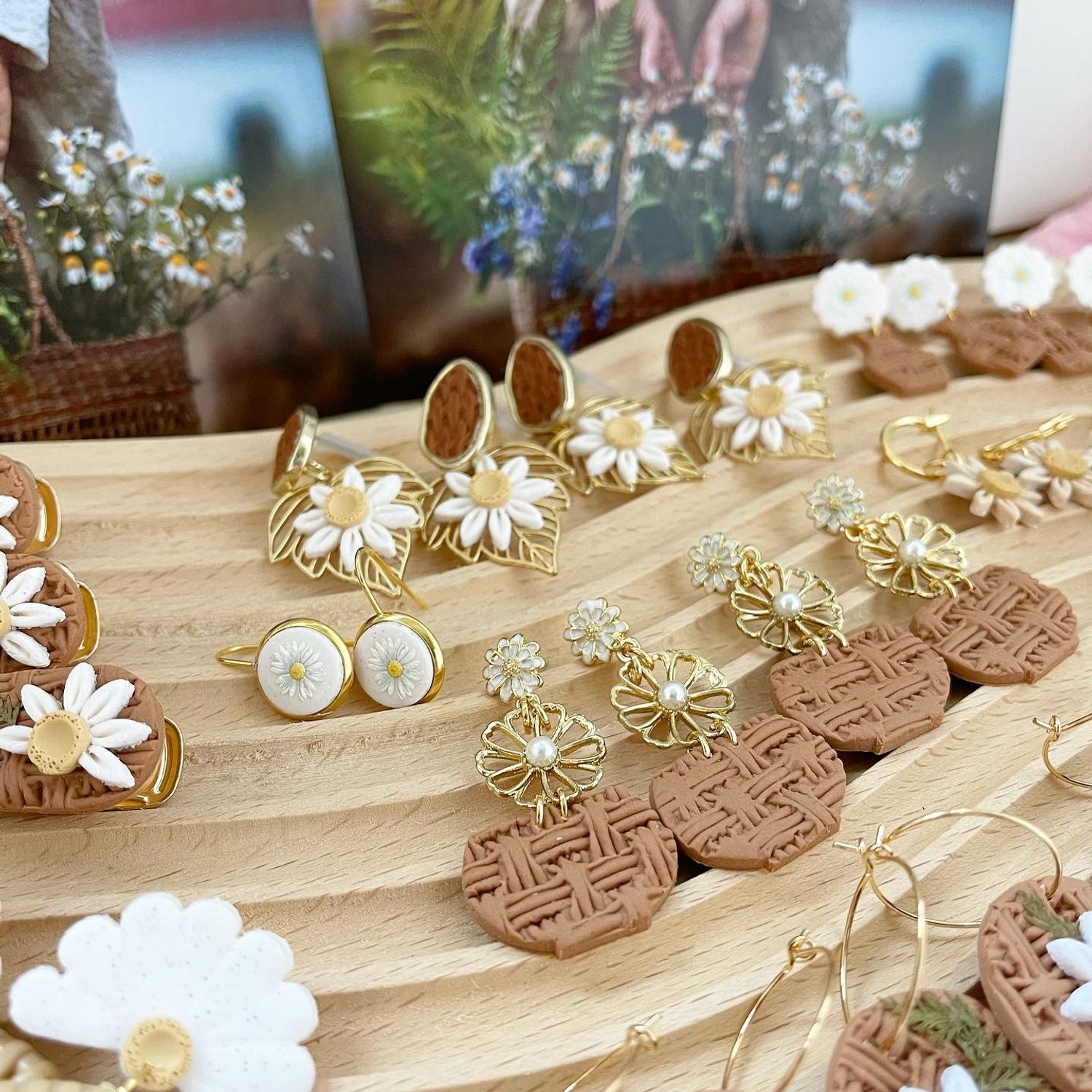 Diary of a Miniature Enthusiast | Basket of Daisies Collection