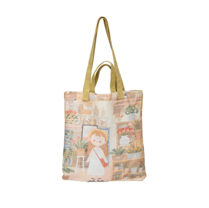 79 CHARA SLING BAG - (NAVY BLUE) GIRL WITH FLOWER POT.png