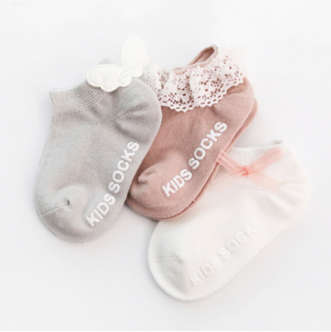 108 3 PAIRS BABY SOCKS - M SIZE (GREY - WINGS).png
