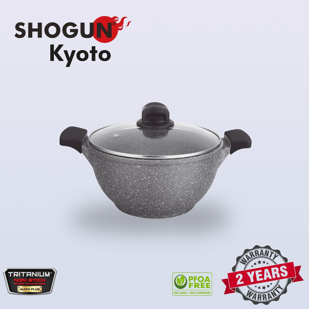 Shogun Kyoto 24cm cast casserole with 2pcs silicone sleeves and glasslid with Induction.jpg