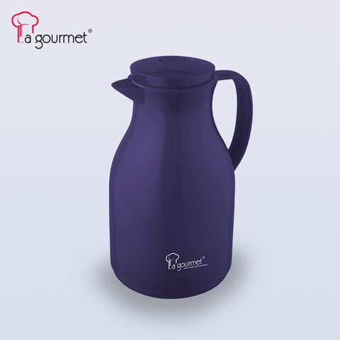 La gourmet® Camelia 1.5 ltr glass liner vacuum jug (Purple).jpg
