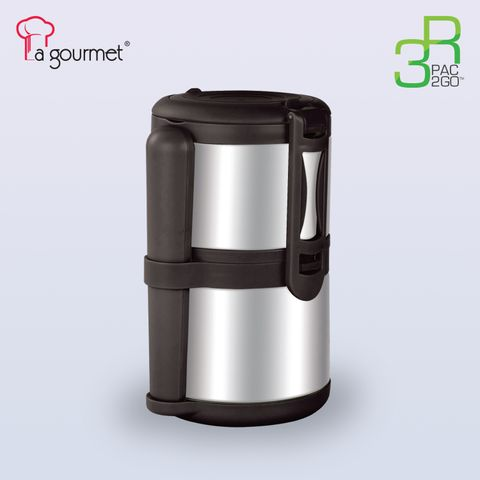 PAC2GO 1.4L L 2 tier thermal tiffin carrier with 304 stainless steel insert & PP exterior.jpg