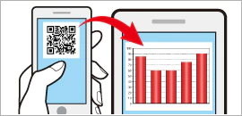 Online Visualization Service Using QR Code