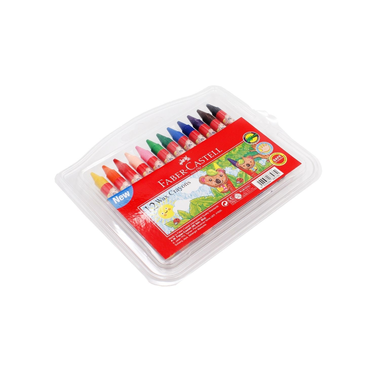 Faber-Castell Wax Crayon 12colors 122425,,.jpg