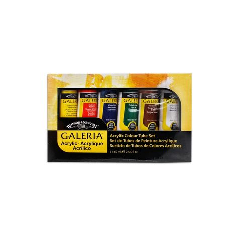 Winsor & Newton Galeria Acrylic Colour Tube Set 6X60ml,,,.jpg