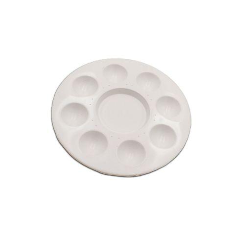 Palette Round Shape Plastic White (M),,.jpg