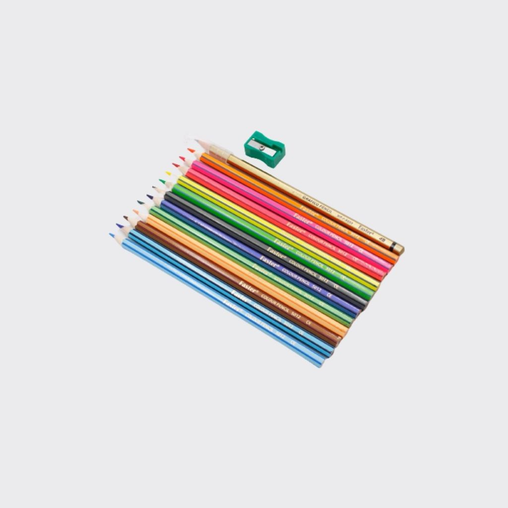 Faster Colour Pencils 12colors CP-F-512-PESET,,,.jpg