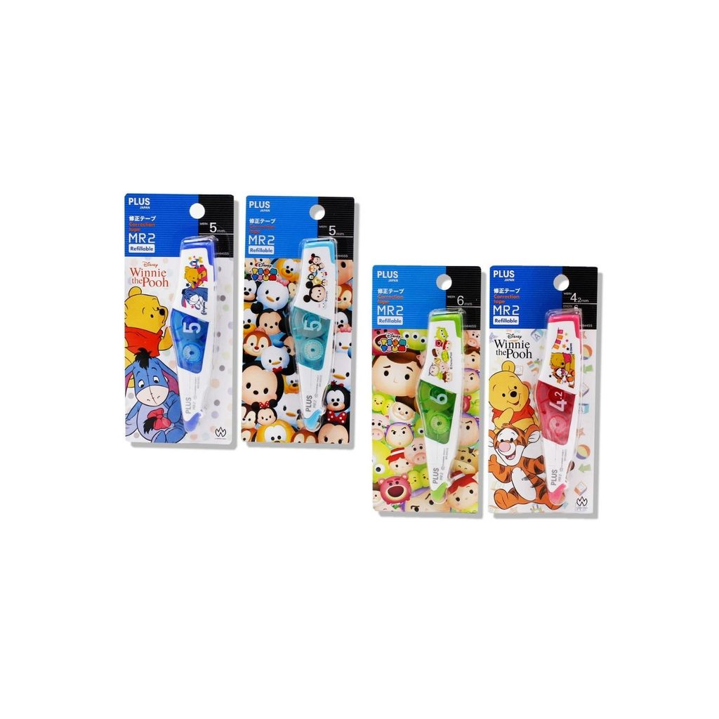 Plus Correction Tape MR2 Refillable Disney Collections  WH-645SS,,.jpg