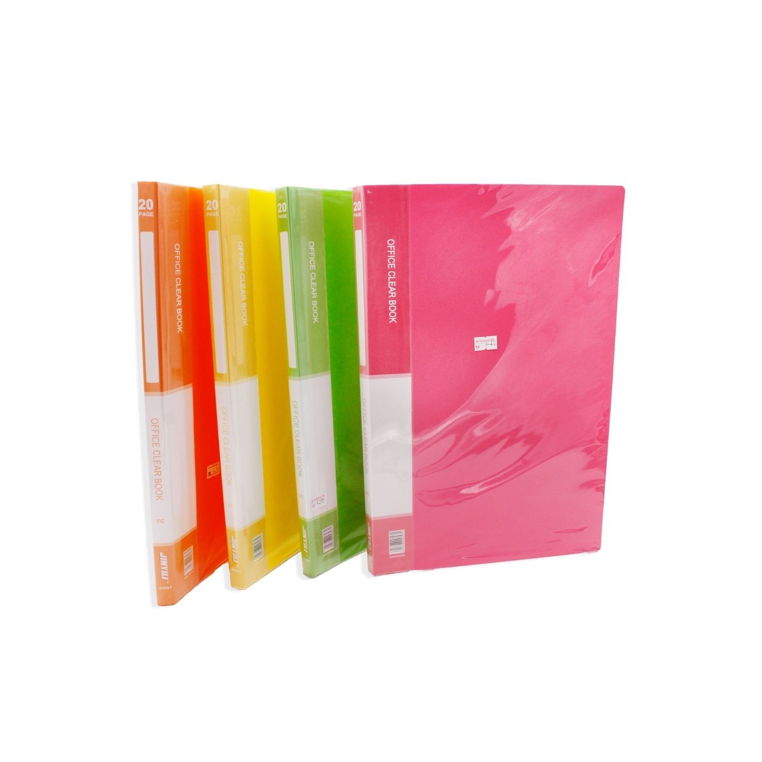 Office Clear Book with 20page pocket (A4),.jpg
