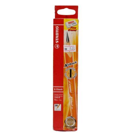 Stabilo X-Shock Triangle (2B) Pencil...jpg