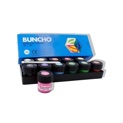 Buncho Poster Color 15cc 12colors....jpg