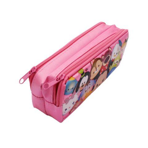 Nylon Pink Disney Pencil Case CQ9-052 TRULY,,.jpg