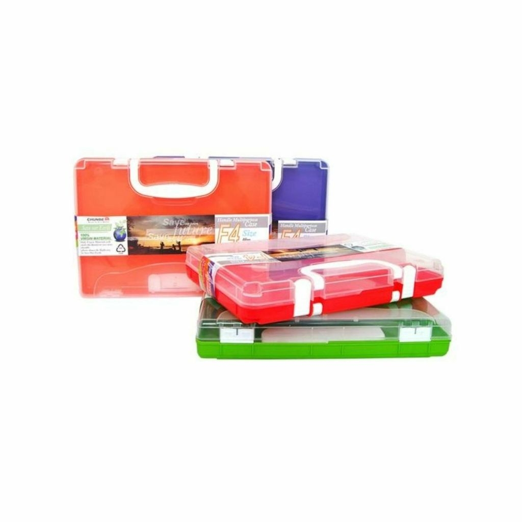 Chunbe Multipurpose Document File Case with Handle (F4) 55mm 8822 FC.jpg