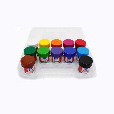 Dolphin Acrylic 12colours x 20ml DOL-AC616.jpg