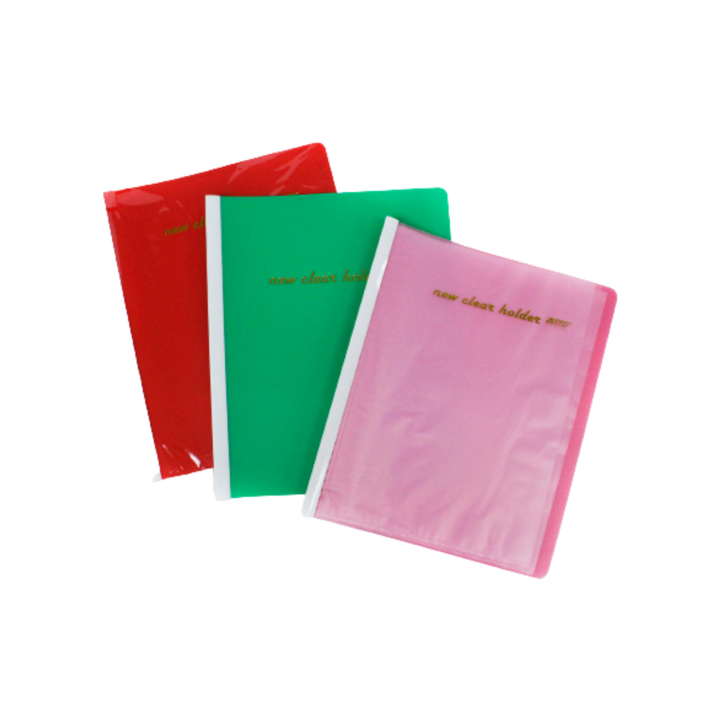 Astar New Clear Holder File Display Book A4 (20 pockets) 359A-1,,,.png
