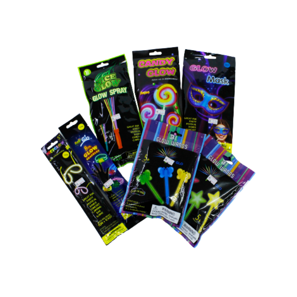 Glow In The Dark Wands , Bracelets , Mask , Candy , Spray.png