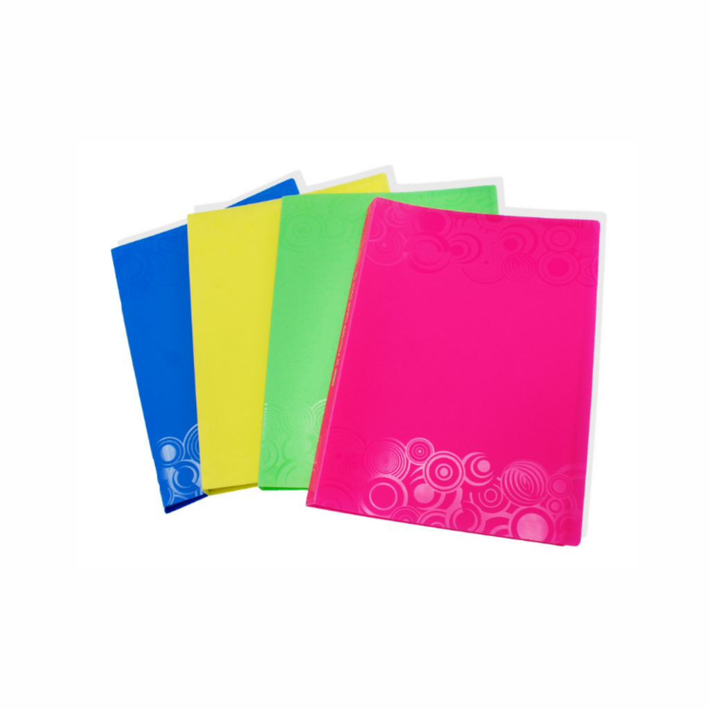Clear Book Document File with Texture Cover (A4) 30pockets TCFL-PP30,,.png