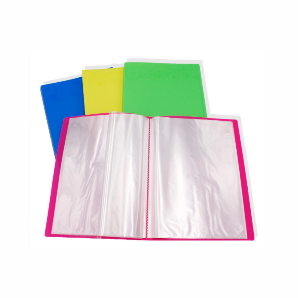 Clear Book Document File with Texture Cover (A4) 30pockets TCFL-PP30.png