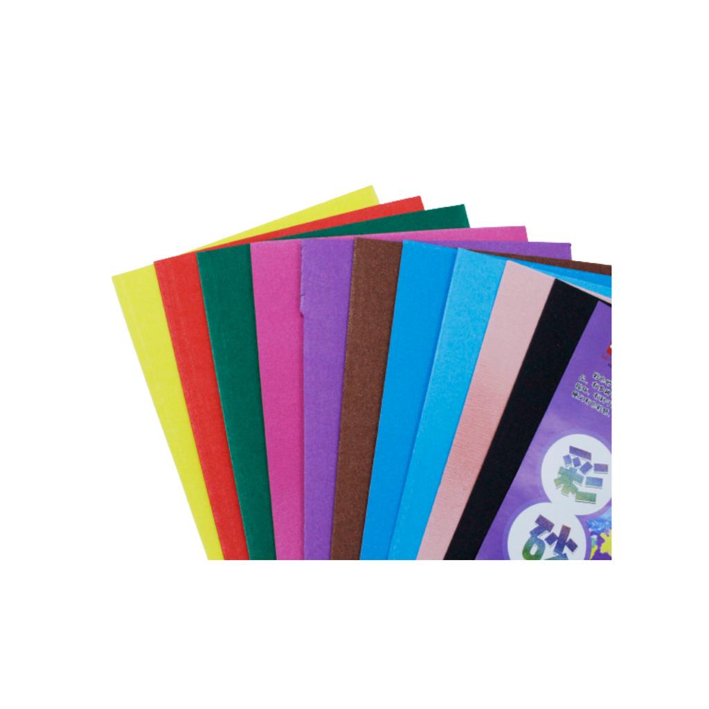 Metallic Sandpaper (A4) (Mix Color) 10sheets,,,.png