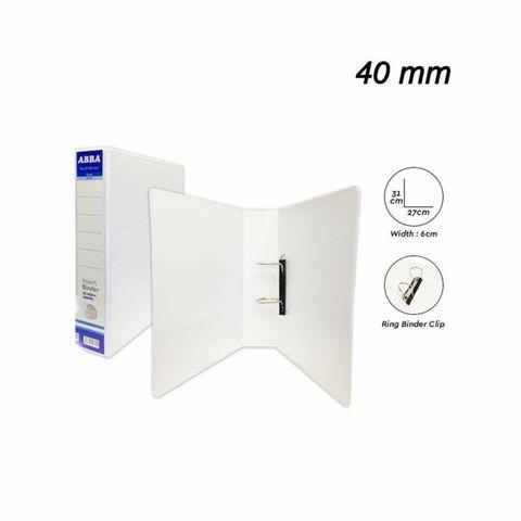 Abba 2D Ring File PVC (A4) White,,,,,.jpg