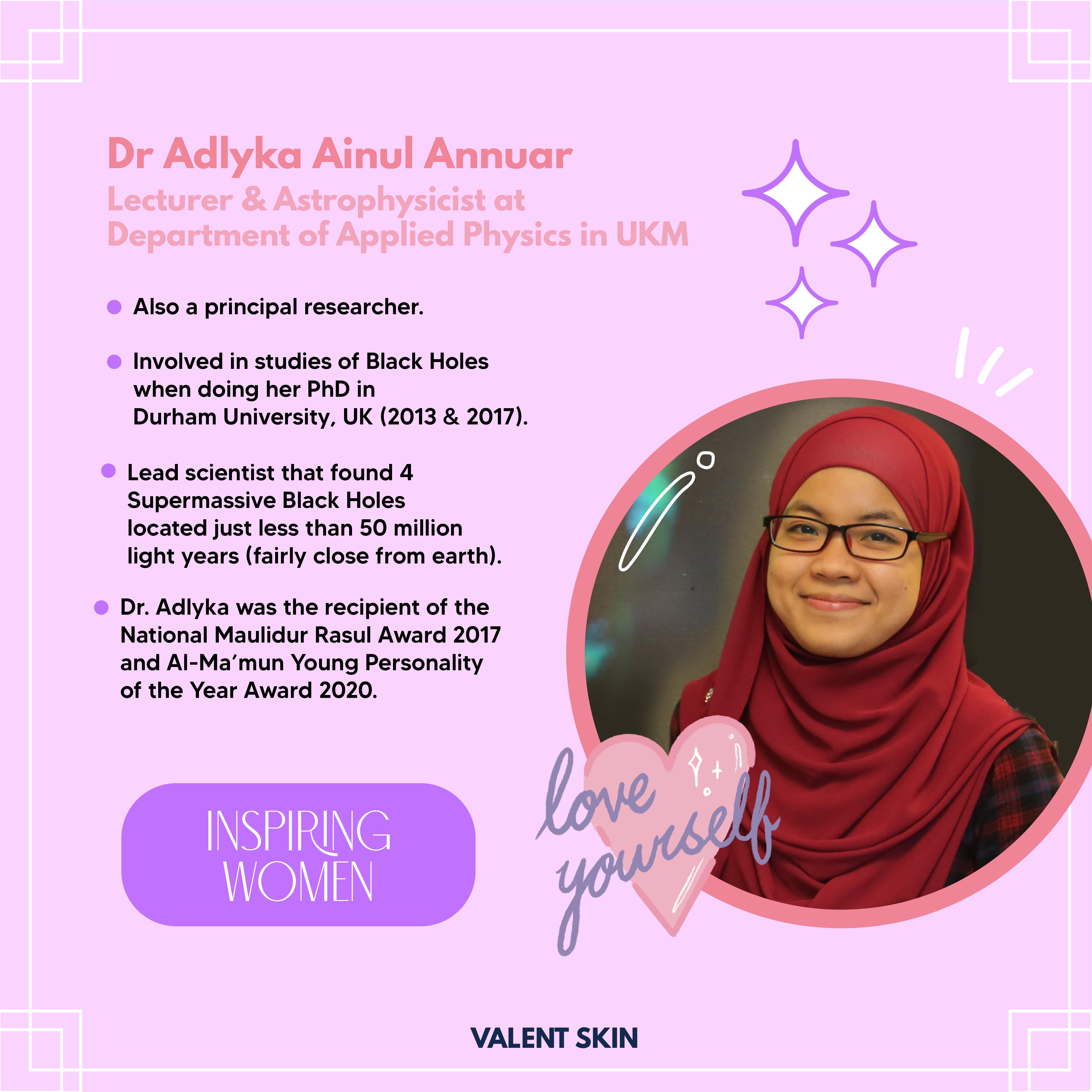 Inspiring Women: Prof. Madya Dr. Nur Adlyka Ainul Annuar