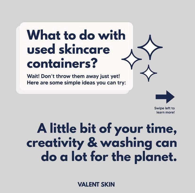 What To Do With Used Skincare Containers?
