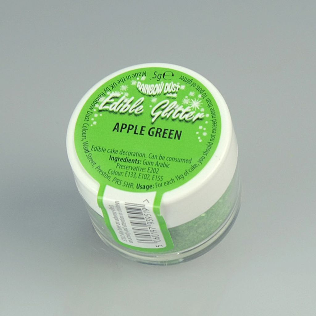 Edible Glitter - Apple Green.JPG