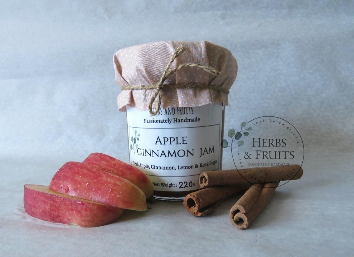 Herbs n Fruit Cinnamon Jam Spread_ Low sugar.jpg
