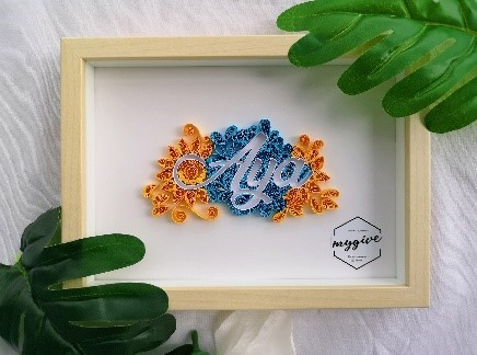 Paper Quilling with with Frame (13 x 18 x 3 cm)_4.jpg