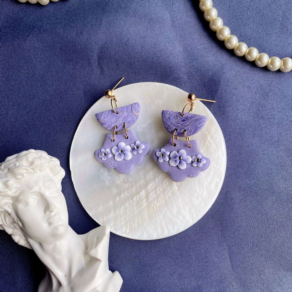062-8 Violet Dynasty Semicircle Aurora Earrings with S925 Silver Stud.jpg