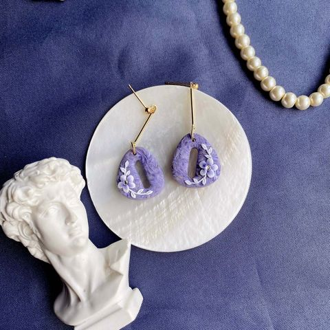 062-13 Violet Dynasty Hollow Egg Chandelier Earrings with S925 Silver Stud.jpg