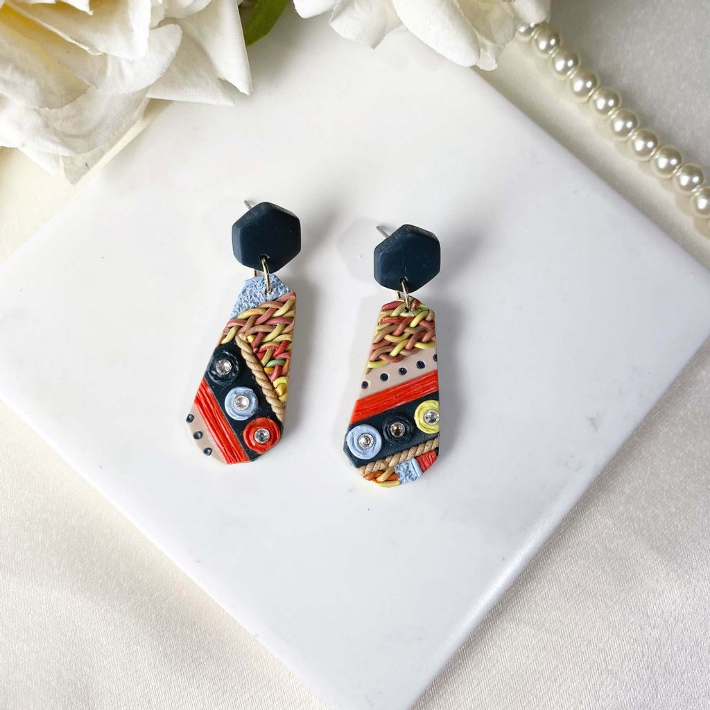 063-6 Tribe Collection Semicricle Statement Studs.jfif