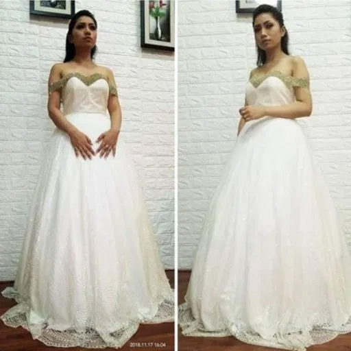 pincess wedding dress