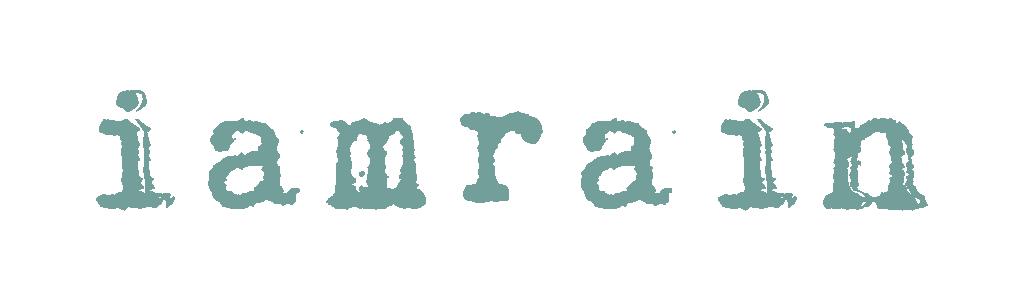 iamrain