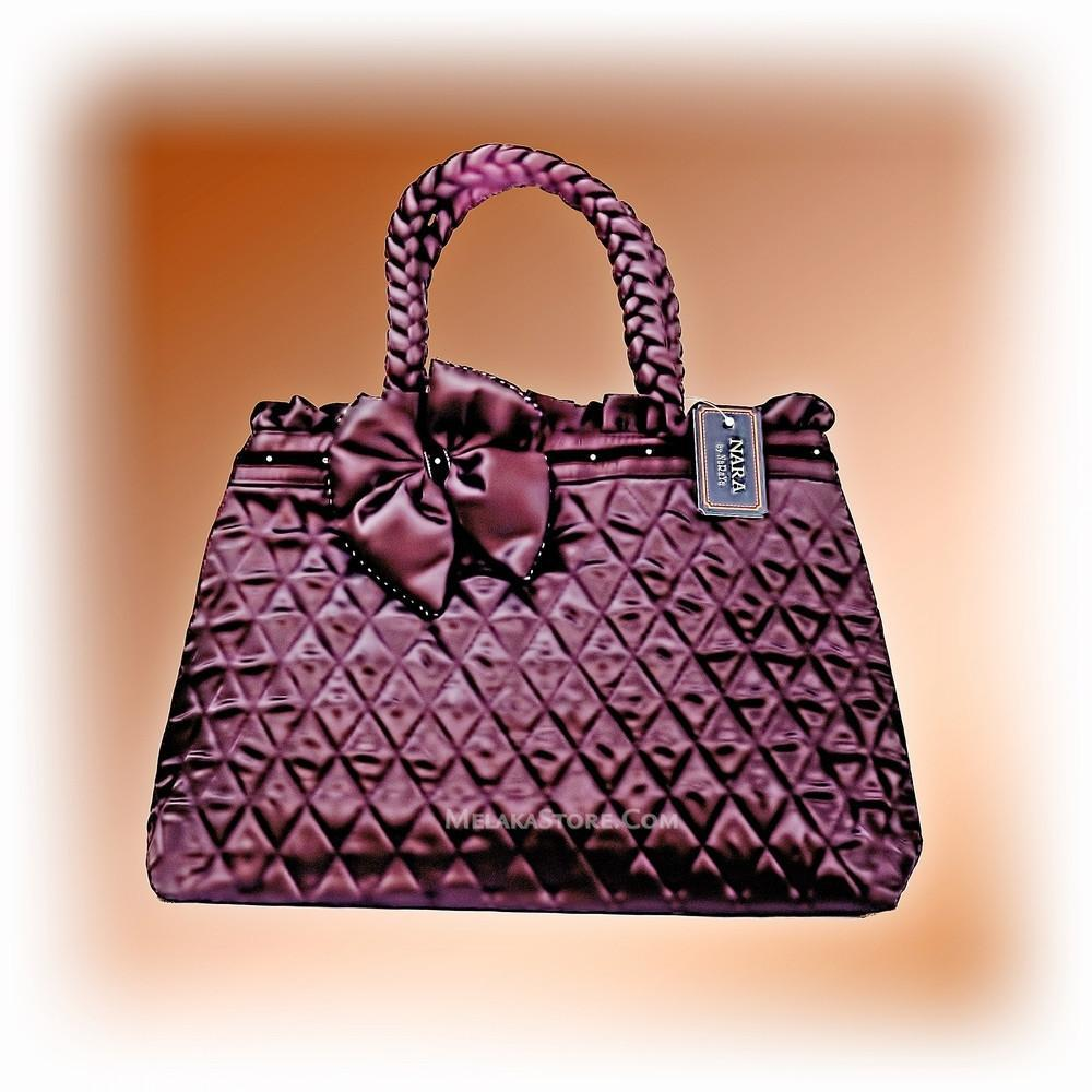 ladies-handbag-naraya-hand-bag-silky-dark-purple-brown-100-authentic-1.jpg